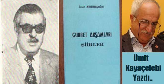 Şair-Yazar Servet Mehterbaşıoğlu
