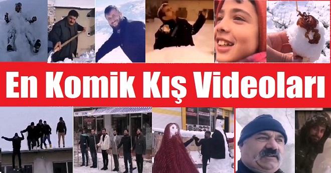 En Komik Kış Videoları