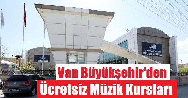 Van Büyükşehir'den Çocuklara Müzik Akademisi
