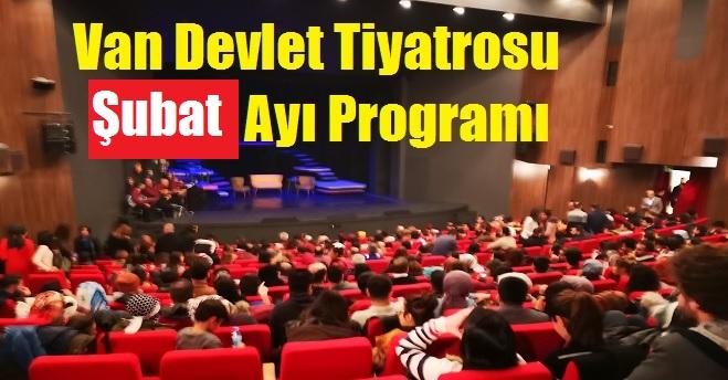 Van Devlet Tiyatrosu Şubat Ayı Programı