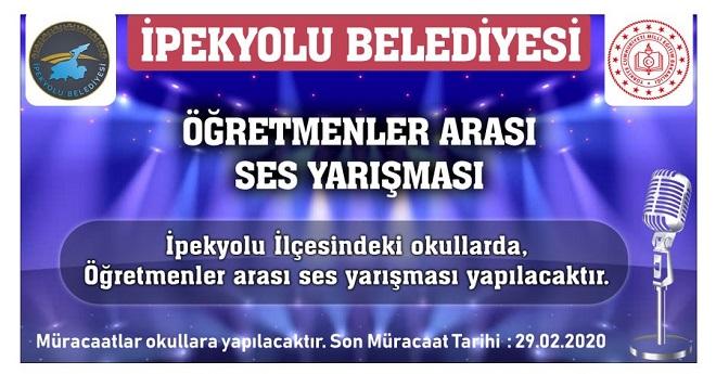 İPKEYOLU'NDA 'İPEKSES' YARIŞMASI BAŞLIYOR