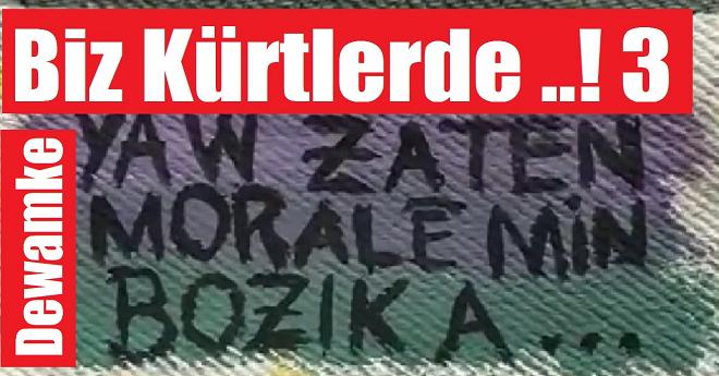 Biz Kürtlerde Komik Paylaşım