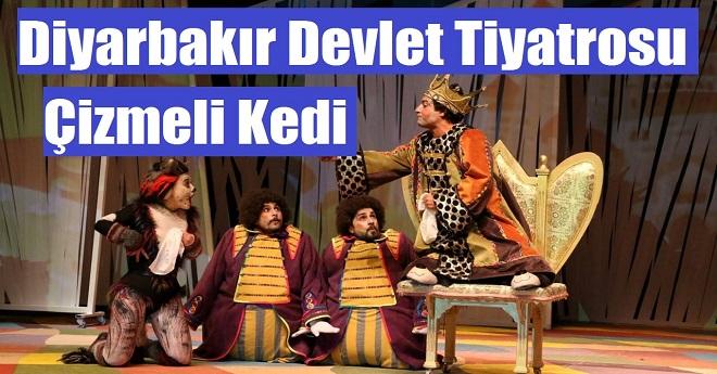 Diyarbakır Devlet Tiyatrosu Çizmeli Kedi Çocuk Oyunu