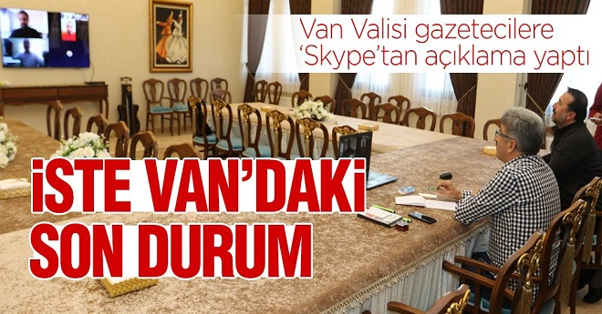 Van Valisinin Van'daki Korona Vakaları ile İlgili Açıklaması