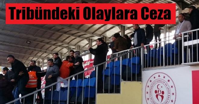 Vanspor Maçı Sonrası Çıkan Olaylara Ceza Yağdı