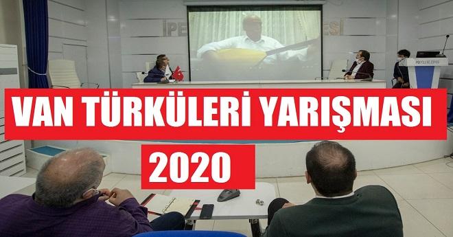 Van Türküleri Yarışması Sonuçlandı
