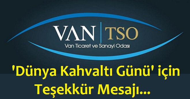 Van Tso Teşekkür Mesajı