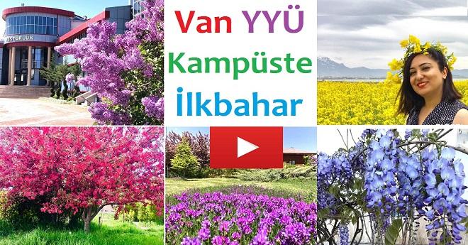 Van YYÜ Kampüs İlkbahar