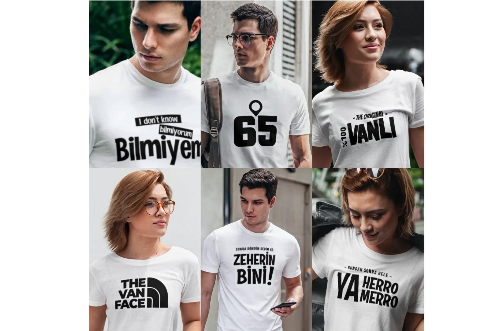 Van Şiveli Tişörtler