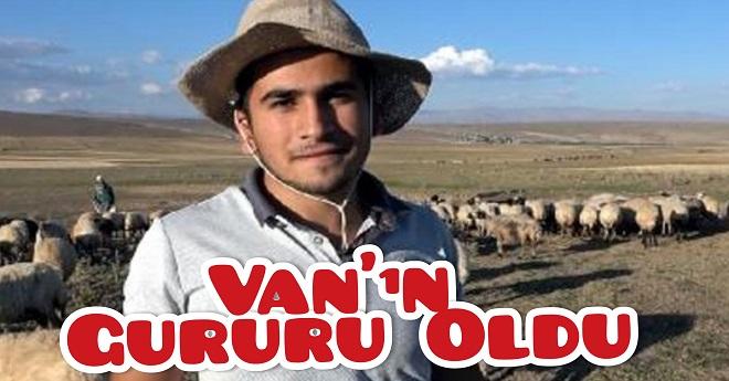 Tıp Kazanan Çoban Van'ın Gururu Oldu