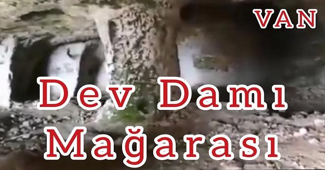 Van'da Tarih Öncesi Bir Mağara