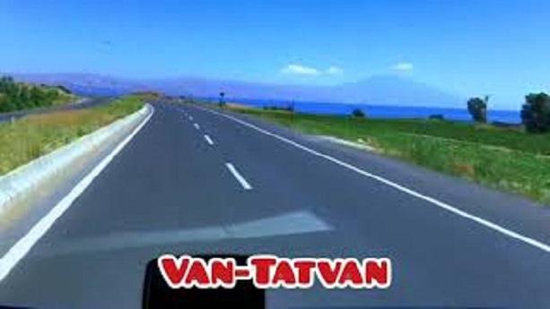 Van Tatvan Yol Güzergahı