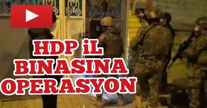 Van HDP İl Binsına Operasyon