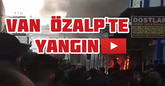 Son Dakika Van Yangın Haber