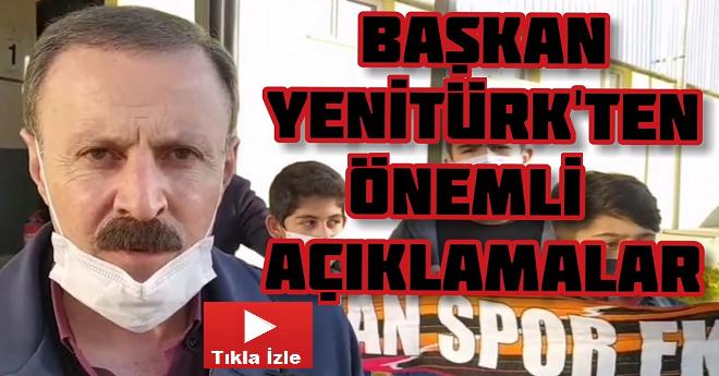Vanspor Başkanı Önemli Açıklamalarda Bulundu
