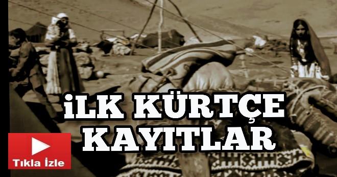 Tarihteki İlk Kürtçe Kayıtlar