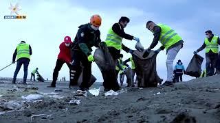 Van Gölünde Gönüllü Temizlik Seferberliği