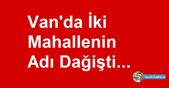 Van Haber Son Dakika