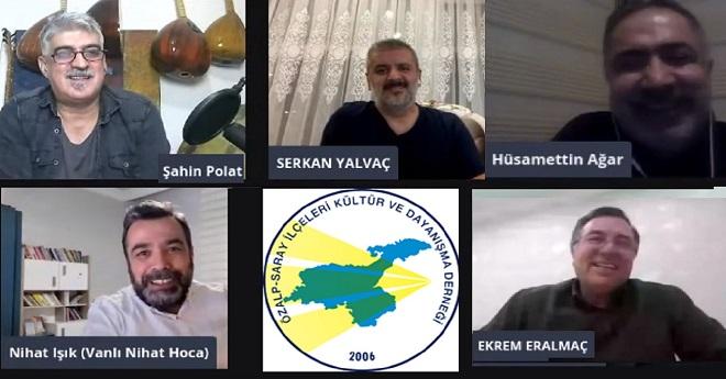 ÖZSAR'ın Konuğu Olup Özalp ve Saray'ı Konuştuk