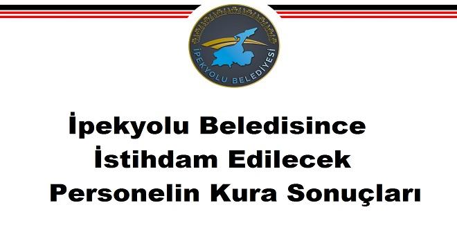 Van İpekyolu Belediyesi Personel Alımı