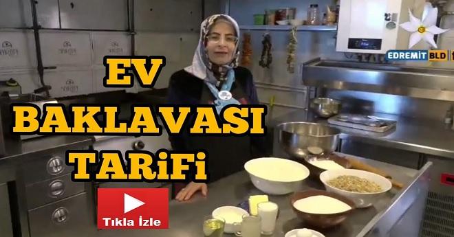 Evde Baklava Tarifi