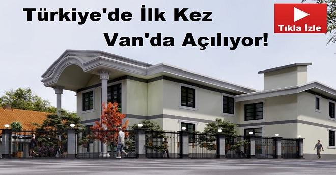 Türkiye'nin İlk Eğitim Köşkü Van'da Açılıyor
