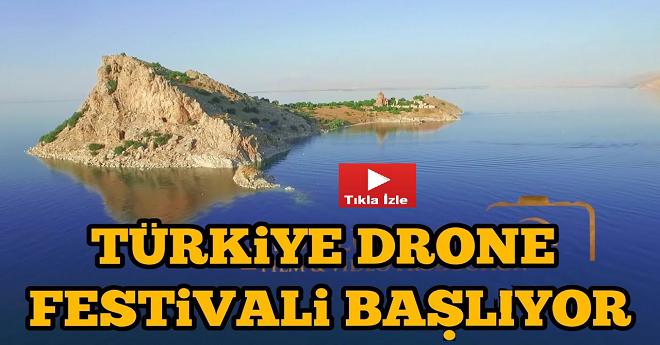 Türkiye Drone Festivali Van Gölü