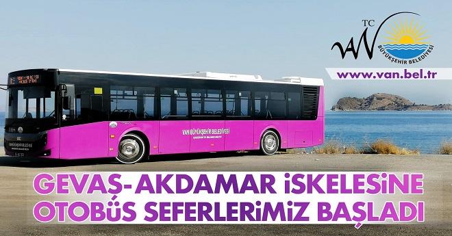Gevaş Akdamar Adası Halk Otobüs Seferleri