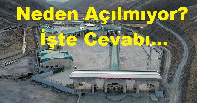 Van Kapıköy Sınır Kapısı