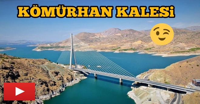 Yeni Hali ile Kaleyi Andıran Kömürhan Köprüsü