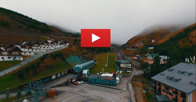 Palandöken Drone Çekimli Kartpostallık Manzaralar