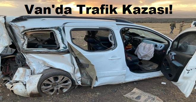 Van'da Trafik Kazası; Ölü ve Yaralılar Var!