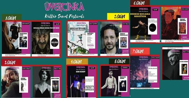 Üvercinka Kültür Sanat Festivali Başlıyor!