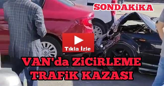 Van Son Dakika Trafik Kazası Haber