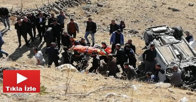 Bingöl'de Feci Kaza: 3 Ölü 2 Yaralı