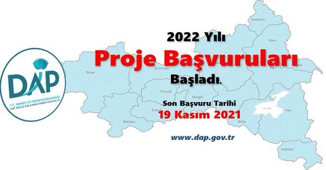 2022 dap proje başvuruları başladı