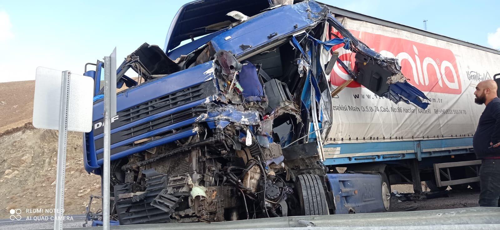 van son dakika trafik kazası