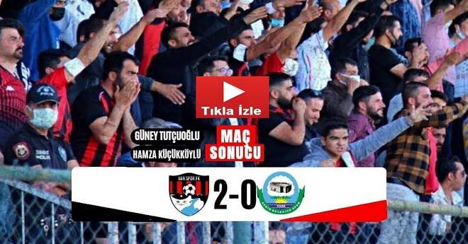 Vanspor 2-0 Serik Belediyespor (Maç Özeti)