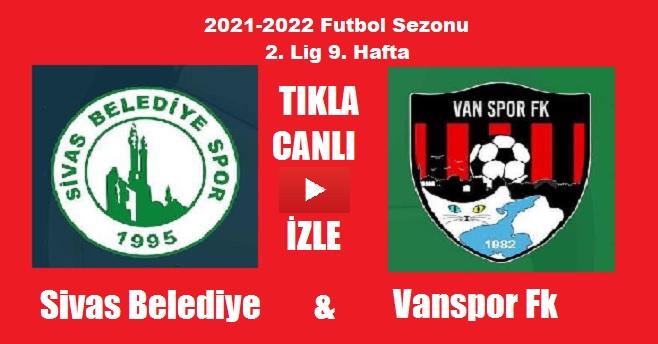 Vanspor Fk – Sivas Belediyespor Maçı