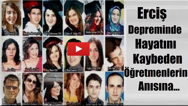 Erciş Depreminde Hayatını Kaybeden Öğretmenler