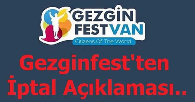 Gezginfest İptal