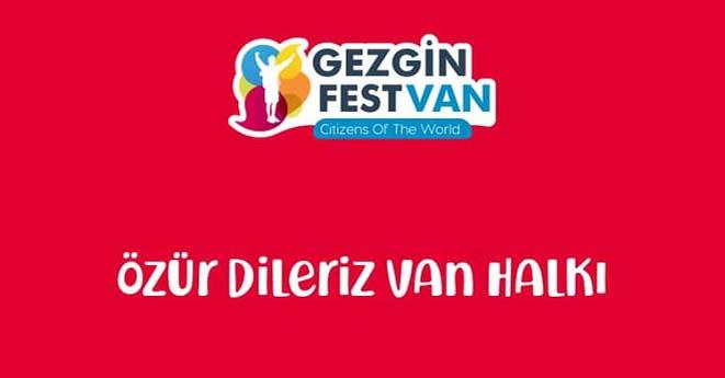 Gezginfest Van İptal mi?