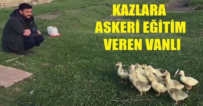 Kazlara Askeri Eğitim