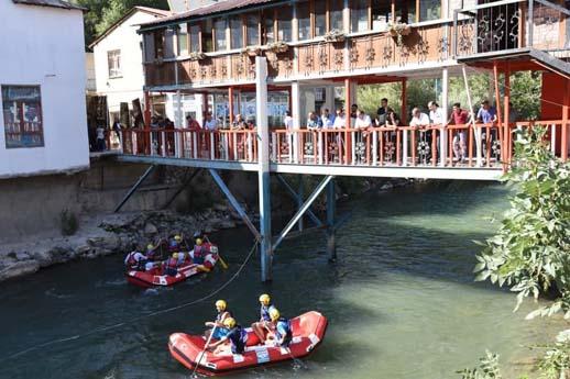 Rafting Türkiye Şampiyonası Van'da
