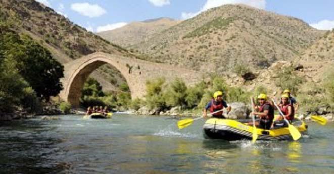 Rafting Türkiye Şampiyonası  Van'da Düzenleniyor