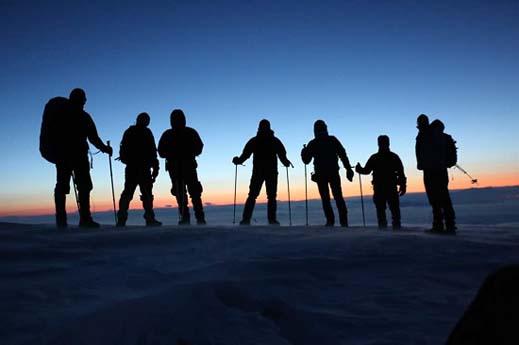 Süphan Dağı Zirve Tırmanışı