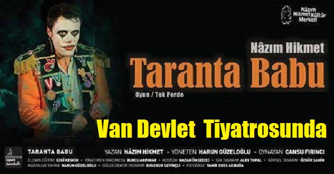 Taranta Babu Van Devlet Tiyatrosunda