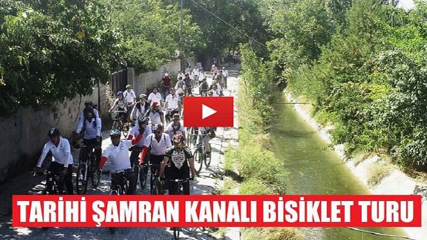 Tarihi Şamran Kanalı Bisiklet Turu