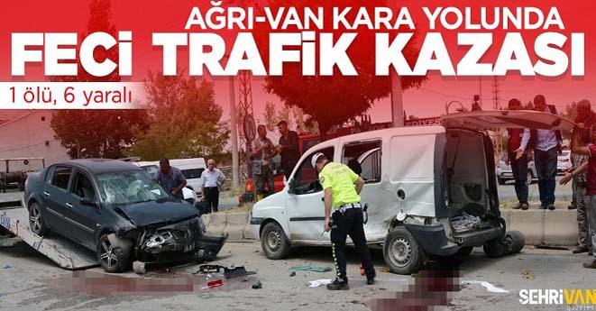 Van-Ağrı Yolunda Kaza