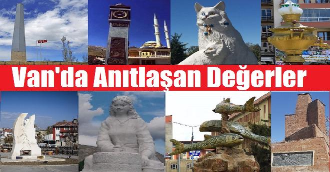 Van anıt ve heykeller